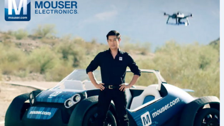 3D Druck Auto mit Drohnenfunktion