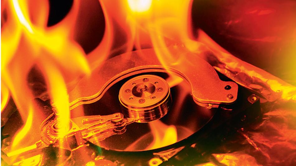 Brandfrüherkennung und Aktivlöschsystem schützen die IT-Anlagen.