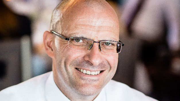 Ulrich Schmidt, Geschäftsführer von Lumberg
