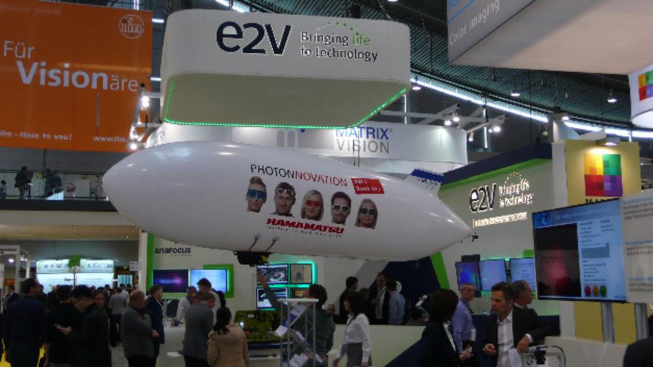 … von ifm electronic, e2v und Matrix Vision …