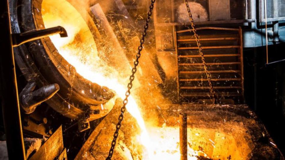 Die metallurgische Verwertung ist der letzte Schritt im Rahmen der MetalSens-Prozesskette.