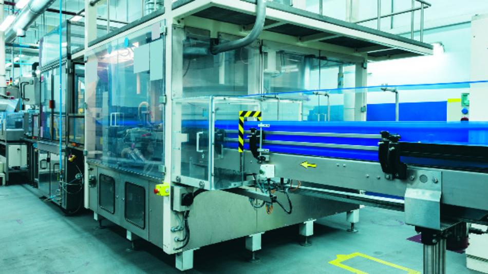Sensorik spielt in der Automatisierung der Produktion eine große Rolle.
