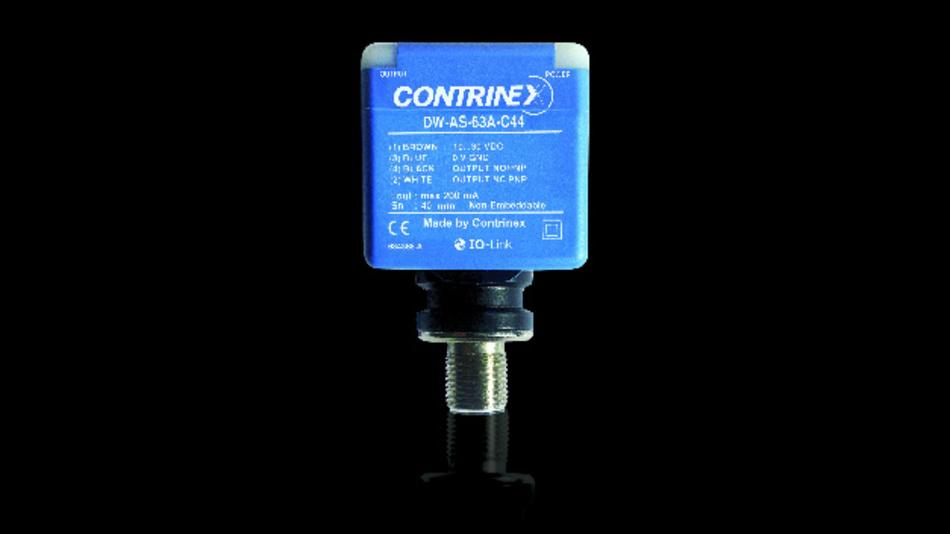 Bild 1. Die C44-Induktivsensoren von Contrinex sind auch mit IO-Link-Schnittstellen ausgestattet.