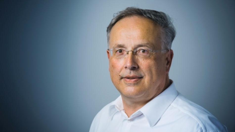 Alfred Goldbacher, Ressortredakteur der Fachzeitschrift Elektronik