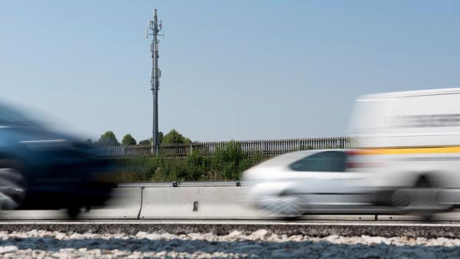 5G ist eine Schlüsseltechnologie für das autonome und vernetzte Fahren.
