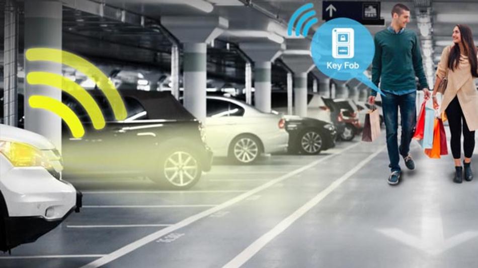 Der ATA5700 und ATA5702 eignen sich für batteriebetriebene Anwendungen wie Smart Keys und andere Mobilgeräte für den Fahrzeugzugang.