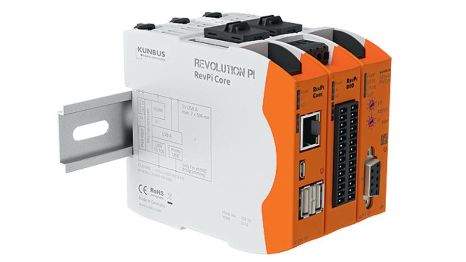 Bild 2. Je nach Kundenanforderung kann der RevPi Core durch verschiedene Module wie beispielsweise I/O-Module oder Gateways erweitert werden.