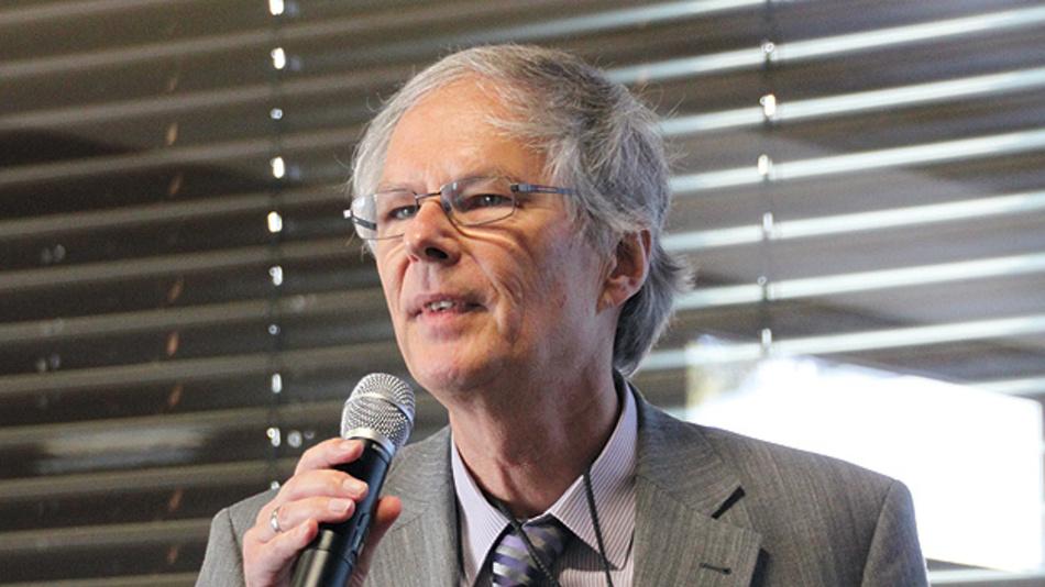 """Bild 1. Prof. Holger Vogt, Leiter der Abteilung """"Technologie, Forschung und Entwicklung"""" vom Fraunhofer IMS."""