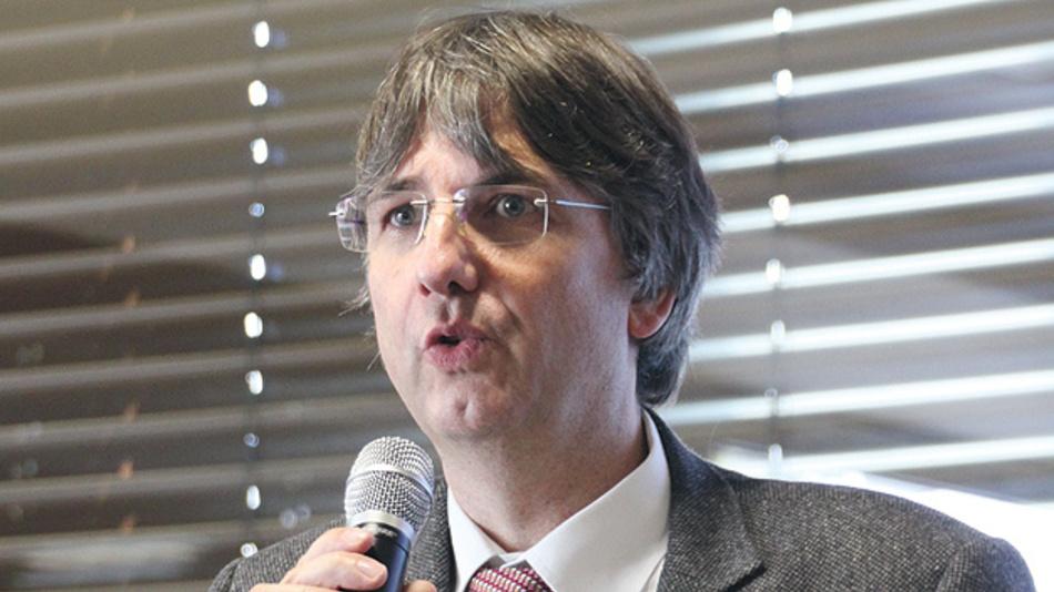 Bild 2. Prof. Martin Hoffmann vom IMN MacroNano der TU Ilmenau fungierte als Chairman des Workshop MNI.