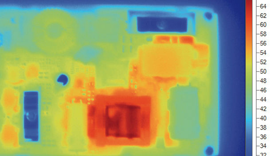 Darstellung des Thermobilds der Bahnstromversorgung mit 97 Prozent Wirkungsgrad