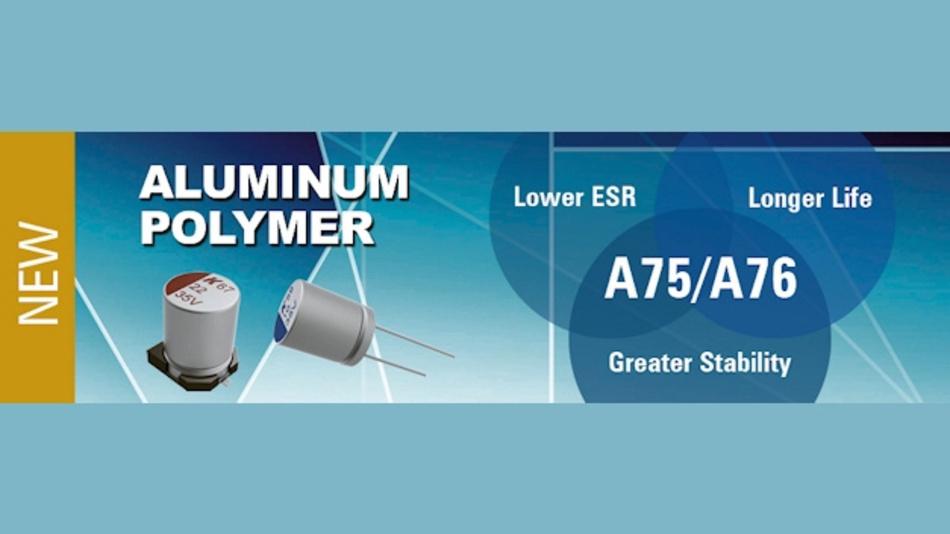 Polymer-Aluminium Elektrolyt-Kondensatoren