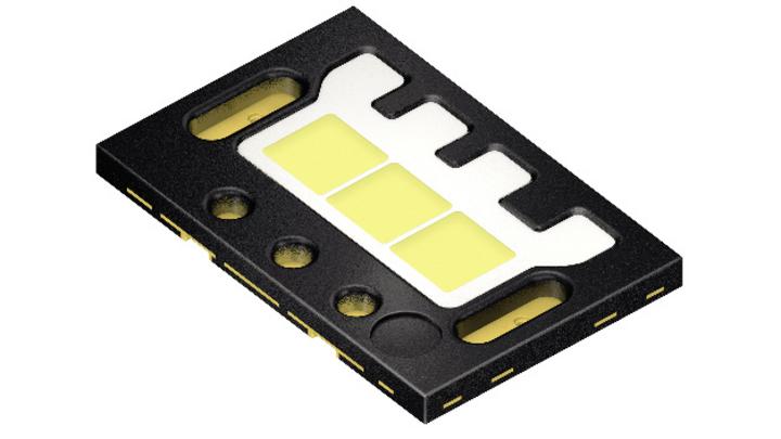 LED mit drei einzeln ansteuerbaren Chips von Osram Opto Semiconductors.