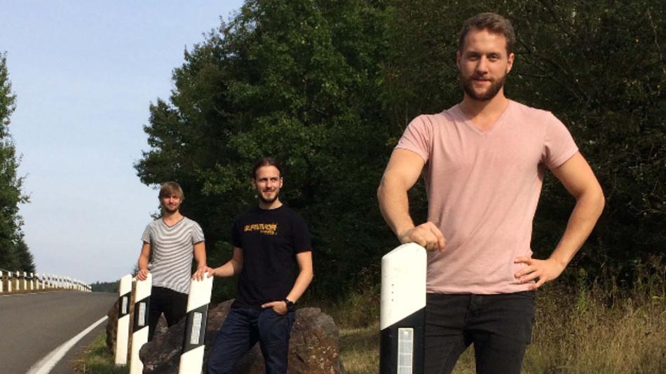 Mit ihrem Prototyp haben Julian Neu, Benjamin Kirsch und Daniel Gilo die Jury des Studentenwettbewerbs COSIMA überzeugt und den ersten Platz und ein Preisgeld von 1.000 Euro gewonnen.