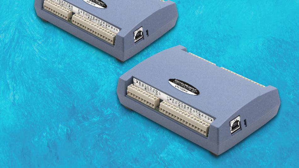 USB-TEMP - USB-Temperaturmessmodule für den Direktanschluss von vier Sensortypen