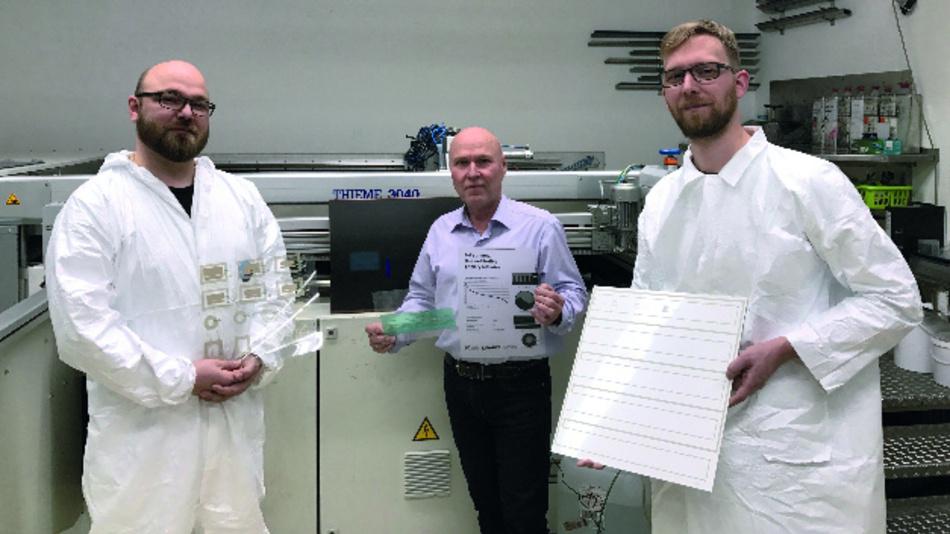 Die Elmeric-Gründer (v.l.n.r.): Dr. Ingmar Petersen, Werner Fink  und Michael Wendler