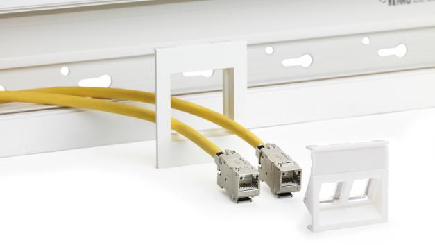 Bis zu 50 Prozent kürzere Einbauzeit: Effiziente, schnelle Montage ohne Werkzeug, ohne Geräteeinbaudose und ohne Verschraubungen.