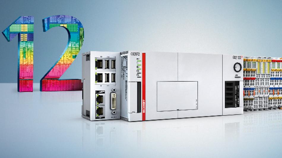Bis zu zwölf Rechenkerne für industrielle Steuerungsaufgaben sind in den Embedded PCs der Baureihe CX 2000 enthalten.