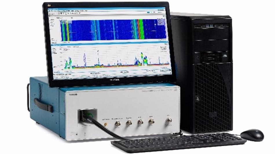 Für die sichere und schnelle Erfassung, Aufzeichnung und Analyse von Breitbandsignalen: RSA7100A von Tektronix.