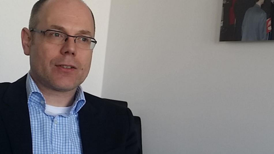 Thomas Hegger, Personalberater aus Berlin und Leiter des VDE-Ausschusses 'Beruf Gesellschaft und Technik'.