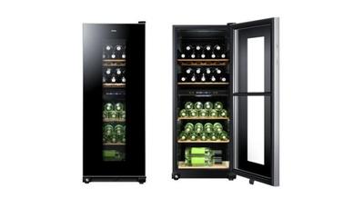 Der Zwei-Zonen-Weinkühlschrank von Haier ist zu einem UVP von 599 Euro im Handel erhältlich.
