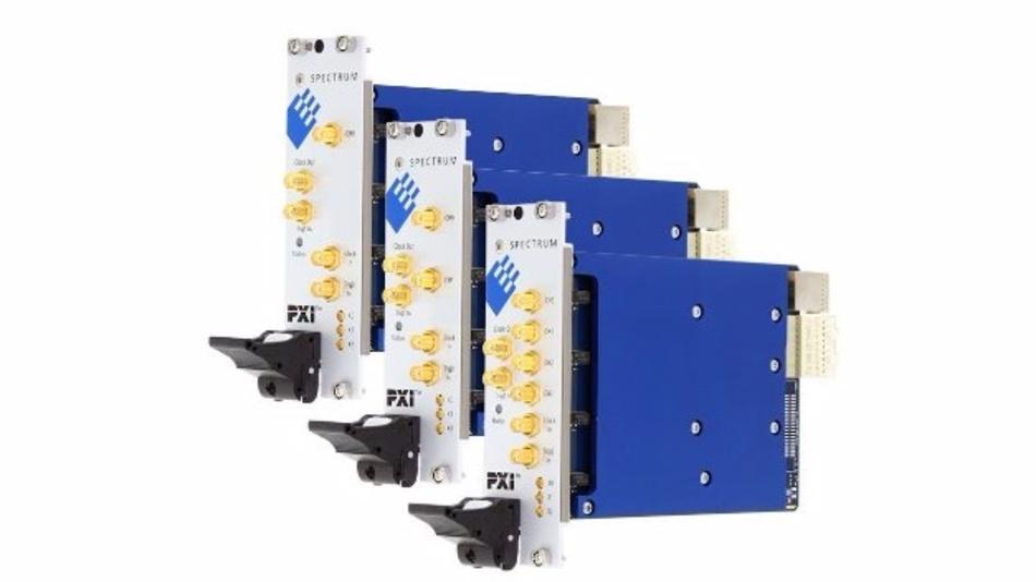 Vielseitige 5 GS/s Digitizer für die Aufzeichnung und Analyse von Signalen von DC bis in den GHz-Bereich