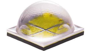 Mit der XHP70 von Cree lassen sich LED-Arrays für sehr lichtstarke industrielle Leuchten mit einem Systemlichtstrom zwischen 50.000 und 100.000 Lumen konstruieren, zum Beispiel High Bays. Die auf Siliziumcarbid (SiC) gefertigten LEDs