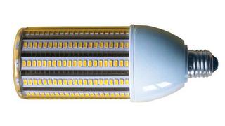 Eurolightings LED-Leuchtmittel Mini Cornbulb ist eine Retrofit-Lampe für Straßenleuchten. Mit 62 mm Durchmesser passt sie in fast jede Straßen-, Koffer oder Altstadtleuchte und eine optionale Einschaltspannungsbegrenzung (ESSB) im Sock