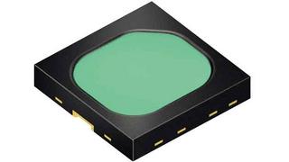 Die SFH 4735 von Osram Opto Semiconductor ist die erste breitbandig emittierende Infrarot-LED. Der 1 mm² große Chip emittiert blaues Licht bei 450 nm, das ein Phosphor-Konverter anteilig und homogen in den nahen infraroten (NIR) Wellen