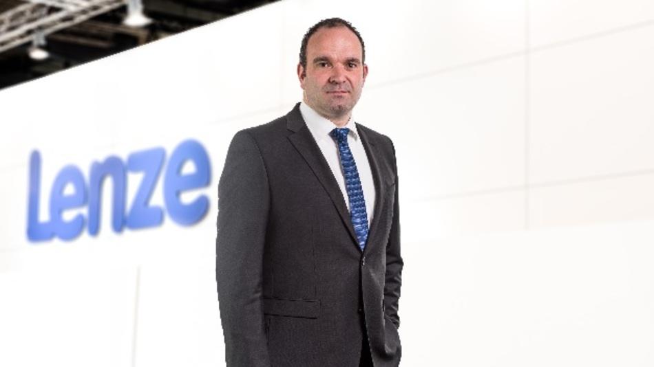 Jörg Fuhrmann verantwortet nun den Vertrieb von Lenze in Österreich und Osteuropa.