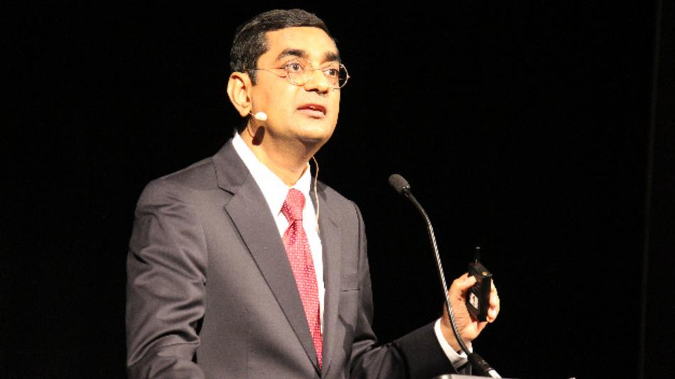 Bei der 62. IEDM in San Francisco übernahm IBM-Fellow Dr. Dharmendra S. Modha den US-Part und stellte den 1620 Teilnehmern sein Konzept des Brain-inspired Computings vor.