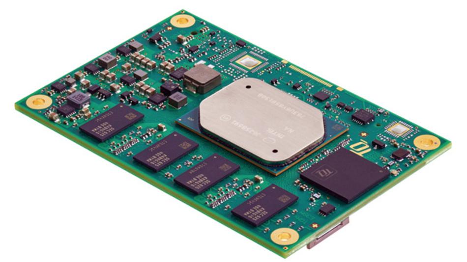 Durch die abgeschrägten Kanten der Metallkappe hat Intel ein prägnantes Erkennungsmerkmal für Apollo-Lake-Prozessoren geschaffen – das im Alltag allerdings unter dem Kühlkörper verschwindet.