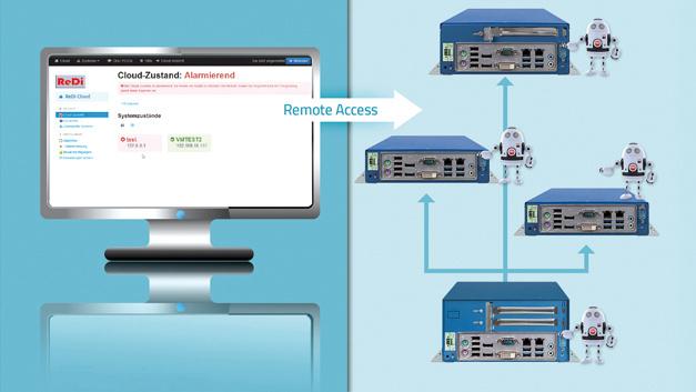 """Mit """"ReDi 1"""" ermöglicht MSC die permanente Zustandsüberwachung der systemkritischen Betriebsparameter"""