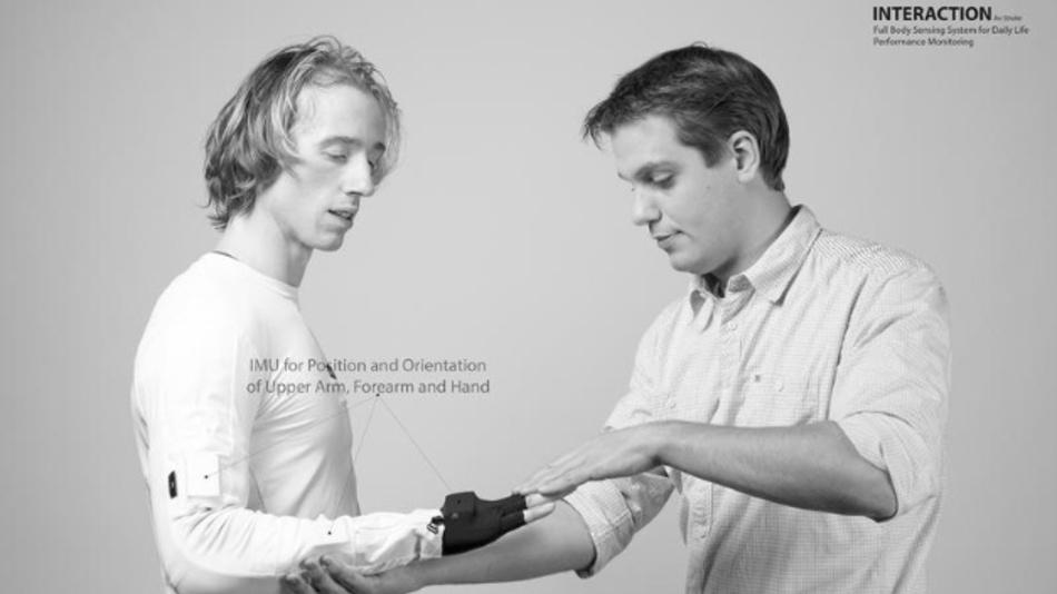 Der Anzug Interaction ermöglicht Patienten-Monitoring in der eigenen Wohnung.