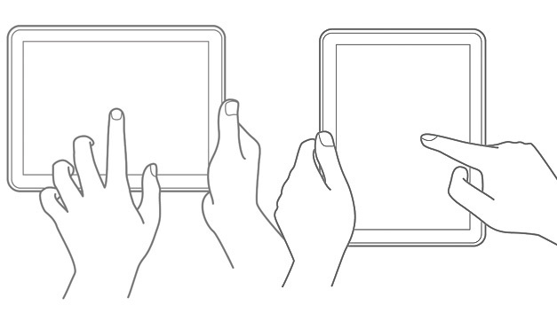 Bei Veränderungen in Touch Displays ist  die Wiederherstellung der Algorithmen nötig.