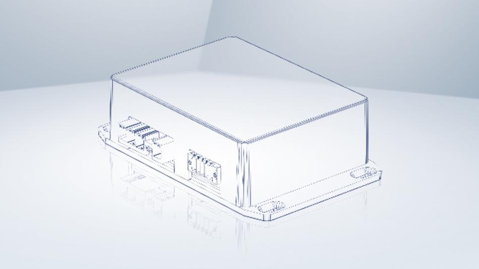 In einem robusten Gehäuse steckt der Antriebsregler »Variotronic VTD-24.40-K4« von ebm-papst.