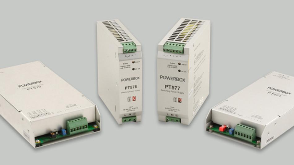Speziell entwickelt für raue Umgebungen im Schiffbau erfüllen die Netzgeräte PT570, PT571, PT576 und PT577 die Sicherheitsstandards EN60950 und die relevanten Abschnitte der EN61000.