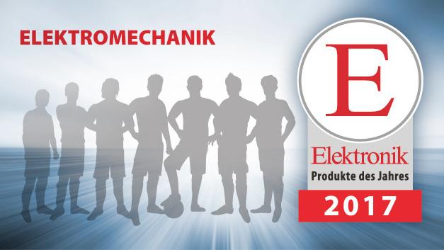 Produkte des Jahres 2017 - Kategorie: Elektromechanik