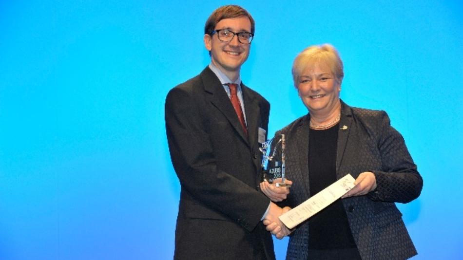 Ferdinand Sedlmair und Carola Schaar, Vorsitzende des DIHK-Bildungsausschusses