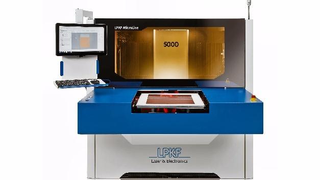 Laser-Bohrsystem