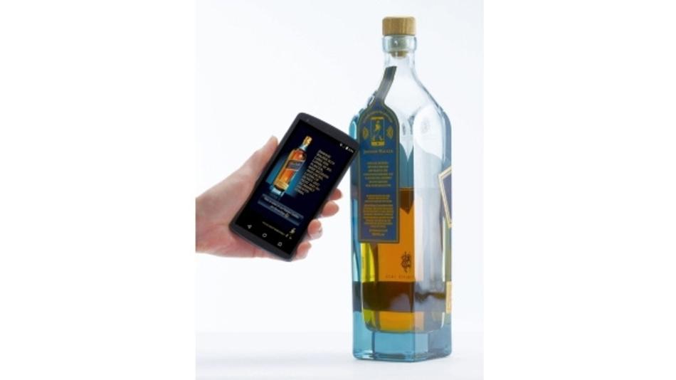 Internet der Dinge – Verpackung mit NFC Label als Markenschutz