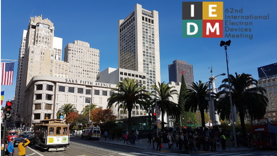Ganz in der Nähe des Union Square in San Francisco fand die 26. IEDM statt.