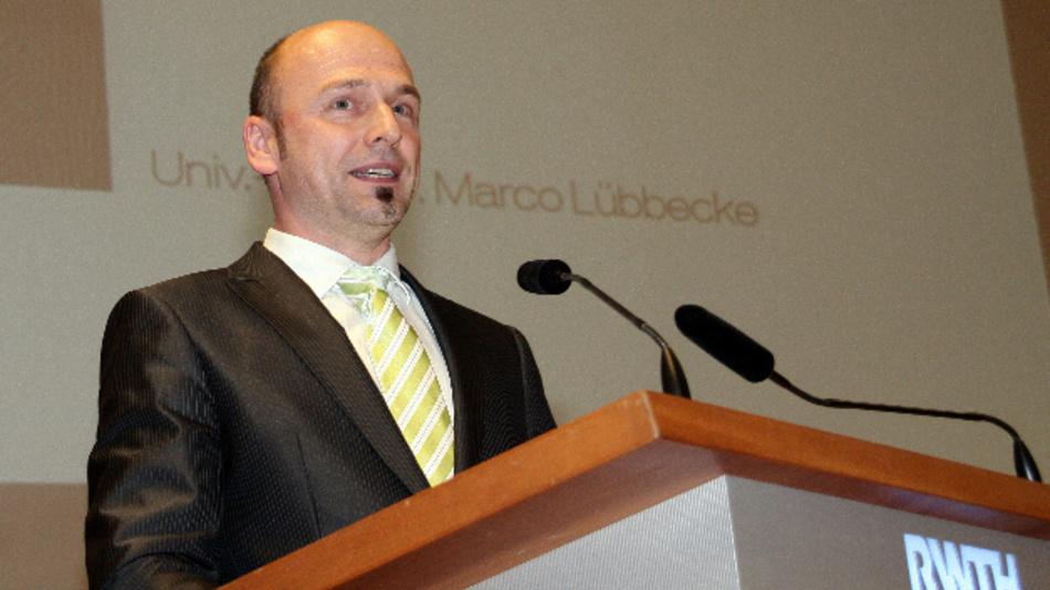 Prof. Dr. Marco Lübbecke leitet den Lehrstuhl für Operations Research an der RWTH Aachen.