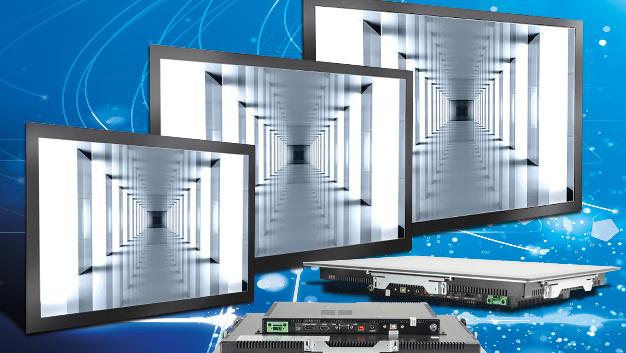Eine Auflösung von 1920x1080 Pixel weisen Fortecs robuste Industrie-Monitore im Format 16:9 auf.