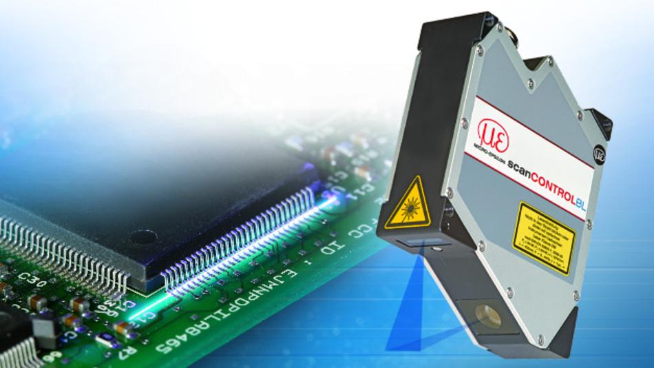 Die Laser-Scanner scanControl 29xx-10/BL von Micro-Epsilon ermöglichen durch die kurze Laserlinie eine hohe Auflösung bei der Profilerkennung.