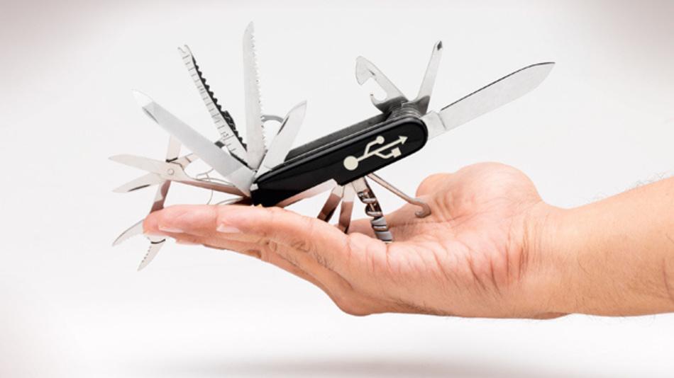 USB Typ-C ist sozusagen das Schweizer Taschenmesser unter den Display-Schnittstellenstandards.
