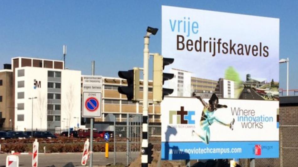 Moderne Forschungsinfrastuktur auf 10.000 m2 bietet der Novio Tech Campus in Nijmegen, Nierlande.