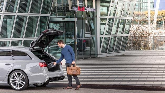 In München am Flughafen gibt es ab sofort den deutschlandweit ersten Audi on demand Standort.