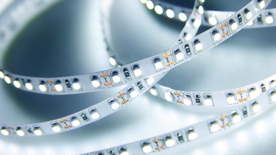 LEDs sind effiziente Leuchtmittel, die aber anfällig für Flimmer-Effekte sind.