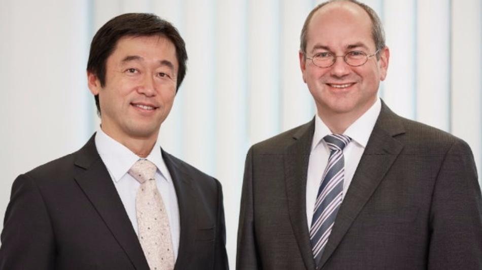 Tsutomu Ogasawara (links) verstärkt ab 16. Dezember 2016 neben CEO Dr. Markus Ehbrecht (rechts) die Geschäftsführung von Instrument Systems.