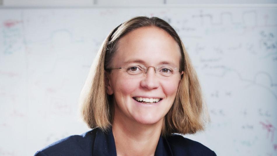 Prof. Dr. Britta Nestler, Institutsleitung am Lehrstuhl für Mikrostruktursimulation in der Werkstofftechnik.